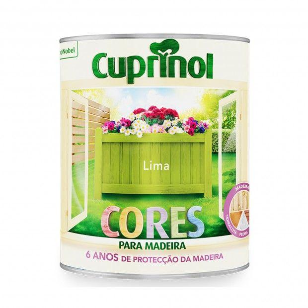 CUPRINOL CORES PARA MADEIRA - LIMA