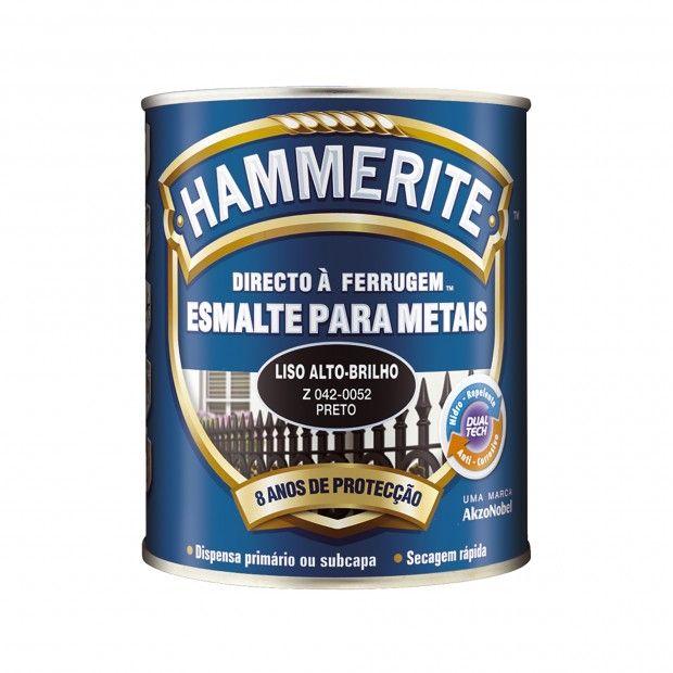 HAMMERITE DIRETO À FERRUGEM PRETO